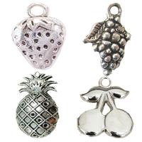 Zinc Alloy Fruit Shape Pendants