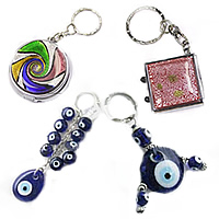 Lampwork Key Chain Jewelry