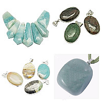 Amazonite Pendants