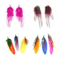 Feather Pendants