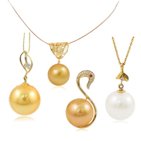 Natural Akoya Cultured Pearl Pendants