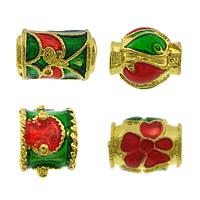 Enamel Brass Beads
