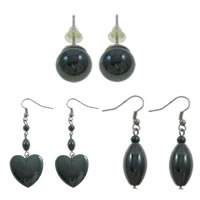 Non Magnetic Hematite Earrings