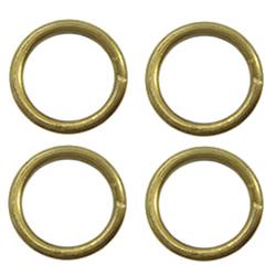 Brass Soldered Jump Ring
