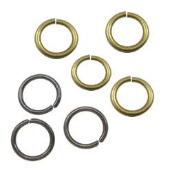 Brass Closed Jump Ring