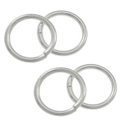 Sterling Silver Closed Jump Ring