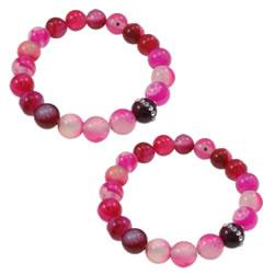 Rose Agate Bracelet