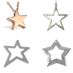 Stainless Steel Star Pendant