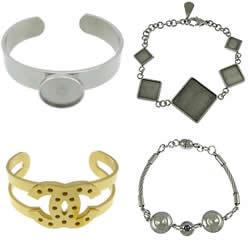 Stainless Steel Bracelet & Bangle Setting
