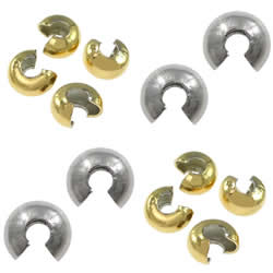 Stainless Steel Crimp Bead Cover