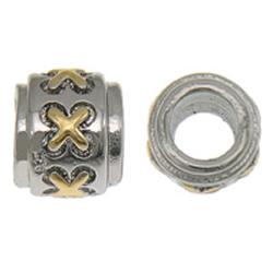 Sterling Silver European Alphabet Beads