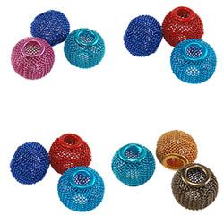 Aluminum Mesh Beads