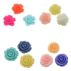 Flower Resin Beads