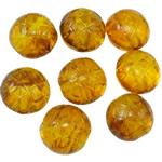 Imitation Amber Acrylic Beads