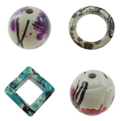 Vintage Acrylic Beads