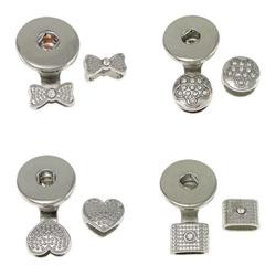 Chunk Button Bracelet Clasp