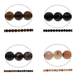 Coffee Agate Beads