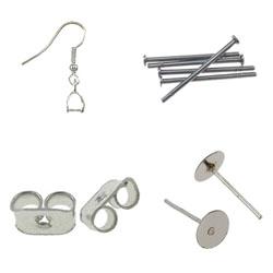 Iron Earring Findings