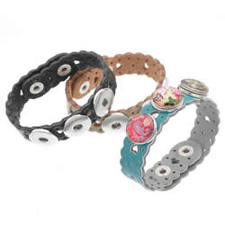 Chunck Button Bracelet