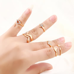 Mid Finger Ring