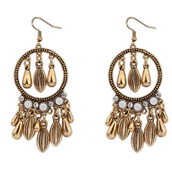 Zinc Alloy Jewelry Earring