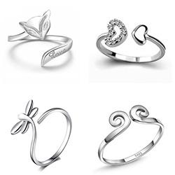 Sterling Silver Finger Ring