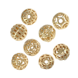 Hollow Brass Beads