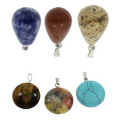 Mixed Gemstone Pendants