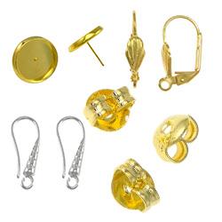 Brass Earring Findings