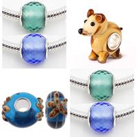 Sterling Silver Core Lampwork European Beads