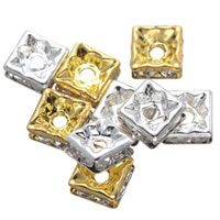 Square Rhinestone Spacer