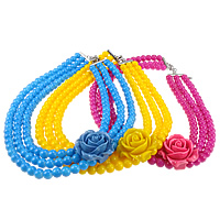 Glass Beads Jewelry Necklace