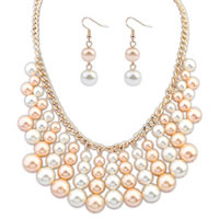 Glass Pearl Jewelry Sets