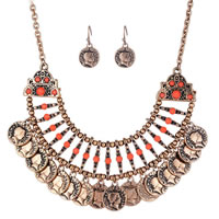 Vintage Coin Statement Jewelry Set