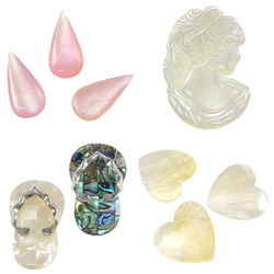 Shell Cabochons