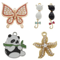 Zinc Alloy Animal Pendants