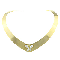Stainless Steel Collar Necklace