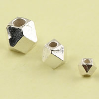 Sterling Silver Faceted Beads