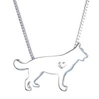 Zinc Alloy Iron Chain Necklace