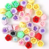 Flower Polymer Clay Beads