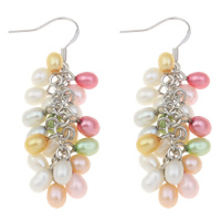 Freshwater Pearl Cluster Earring