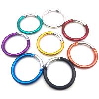 Aluminum Carabiner Key Ring