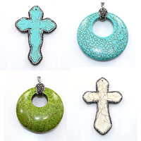 Natural Turquoise Pendants