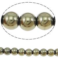 Golden Pyrite Beads