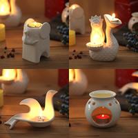 Porcelain Candle Holder