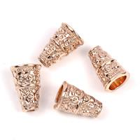 Zinc Alloy Cone Beads