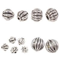 Zinc Alloy Corrugated Beads