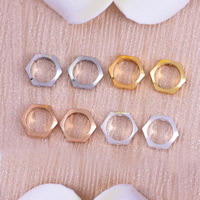 Brass Frame Beads