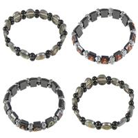 Plastic Beads Magnetic Bracelets