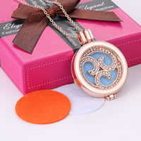 Perfume Locket Necklace